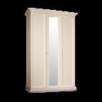 Шкаф 3-х дверный для платья и белья (с зеркалом) Тиффани