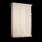 Шкаф 3-х дверный для платья и белья (без зеркал) Тиффани