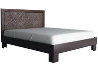 Кровать с мягким изголовьем 16М Калипсо венге