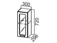 Шкаф навесной (со стеклом) Ш300с Прованс