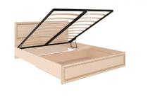 Кровать с подъемным механизмом и мягкой спинкой М11 Беатрис