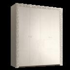 Шкаф 4-х дв. для платья и белья без зеркал Тиффани Премиум