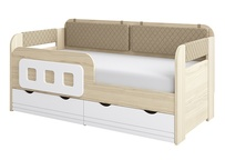 Кровать-тахта 1600 х 800 мм 800-4 Стиль Кофе