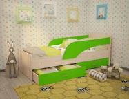 Кровать детская с ящиками Кроха разные расцветки