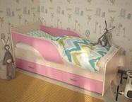 Кровать детская с ящиком Кроха-2 разные расцветки