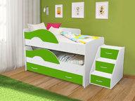 Кровать Матрешка разные расцветки
