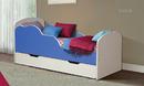 Кровать детская с ящиком Облака 2