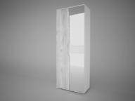 Шкаф 2-х створчатый с зеркалом Сорренто